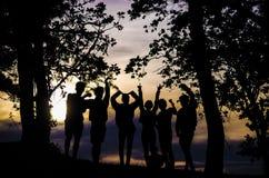 Тень приятельства Стоковые Изображения RF