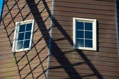 Тень пропеллера на ветрянке, Стоковые Изображения