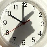 тень руки часов Стоковые Изображения RF