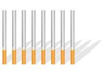 тень сигарет иллюстрация штока