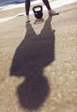 Тень тренера стоковое изображение rf