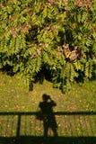 Тень фотографа Стоковая Фотография RF