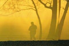 тень фотографа Стоковые Изображения RF