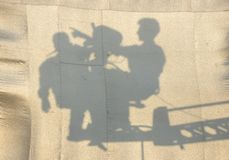 тень Стоковая Фотография