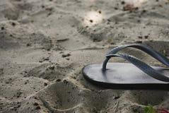 тень havaianas flops flip Стоковая Фотография