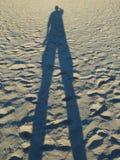 Тень Sandy стоковое фото