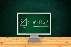 Теорема Pythagorean Стоковые Изображения RF