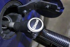 Тепловозный автомобиль заполненный с топливом Стоковые Фото