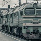 Тепловозный локомотив груза Стоковое фото RF