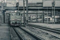 Тепловозный локомотив груза Стоковые Изображения