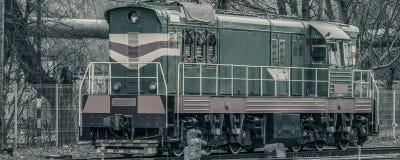 Тепловозный локомотив груза Стоковые Фотографии RF