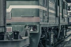 Тепловозный локомотив груза Стоковое Фото