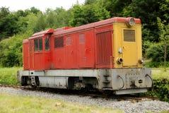 тепловозный паровоз старый Стоковое Изображение
