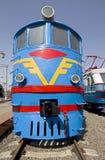 тепловозный паровоз 3 старый Стоковое Изображение