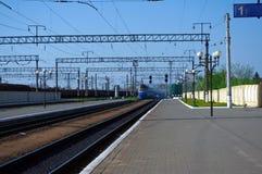 тепловозный поезд Стоковое Фото