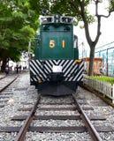 Тепловозный электрический поезд двигателя никакой 51 Стоковые Изображения