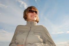 теплое ветреное стоковая фотография rf