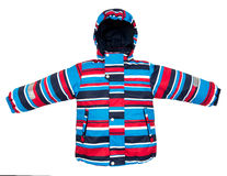 Теплая изолированная куртка Стоковое фото RF