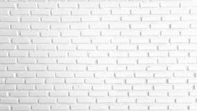Теплая красная и белая кирпичная стена для текстуры или предпосылки Стоковая Фотография