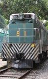 Тепловозный электрический поезд двигателя никакой 51 Стоковое фото RF