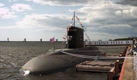 Тепловозн-электрическая подводная лодка Стоковые Изображения RF