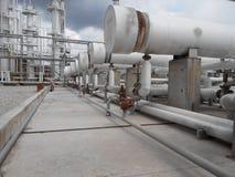 Теплообменные аппараты для нагревать масла Стоковая Фотография RF
