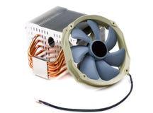 Теплоотвод компьютера охлаждая Стоковое Изображение