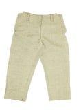 Теплые желтые короткие брюки стоковые изображения rf
