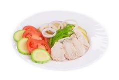 Теплый салат мяса Стоковая Фотография