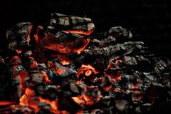 Теплый уголь Стоковое Изображение