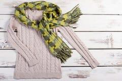 Теплый яркий комплект зимы Стоковая Фотография RF