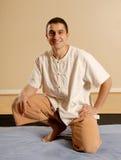 терапевт массажа Стоковая Фотография RF
