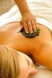 терапия массажа стоковые изображения