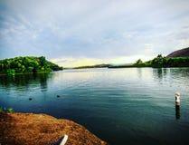 Терапия озера Стоковое Фото