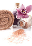 терапия спы соли альтернативного helthcare ванны медицинская Стоковые Фотографии RF