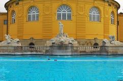 Термальные ванны в Будапешт Стоковое Изображение RF