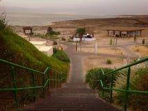 Термальные ванны на мертвом море Стоковые Изображения RF