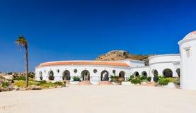 Термальные весны Kallithea (Terme Kalithea) Остров Родоса Стоковая Фотография