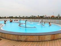 Термальный бассейн внешний Стоковое Фото