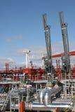 терминал нефтепровода нося Стоковые Изображения