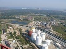 терминал нефтепровода Стоковое Фото