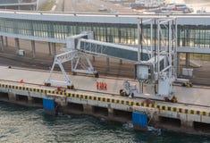 Терминал туристического судна международный Qingdao в Китае стоковые изображения