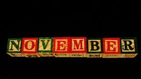 Термина ноябрь Стоковое фото RF
