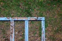 Термиты древесина banister гнить Стоковая Фотография