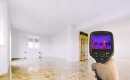 Термоизоляция дома Стоковые Фотографии RF