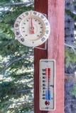 Термометры Стоковое Изображение RF