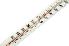 термометр маштаба Стоковое фото RF