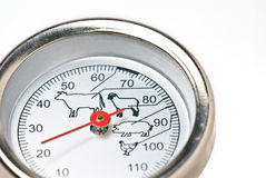 термометр мяса стоковые фото