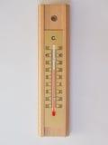 Термометр для измерения температуры воздушной среды стоковые изображения rf
