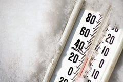 термометр стоковое изображение rf